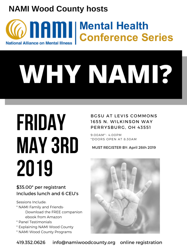 Mental Health Conference Series - NAMI Wood County